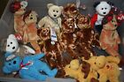 Beanie Babies TY Retired Assorted Bears & Animals Plush - Sports Related Themes