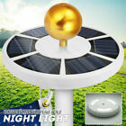 Solar Powered 42 LED Flag Pole Light Night Super Bright Flagpole Waterproof A+++
