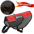 Reflective Lightweight Red Dog Mesh Harness in Training  Service Dog Patches