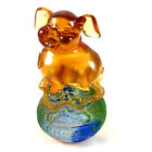 Amore Jewell Chinese Collection Happiness Wealth Pig Liuli Crystal glass