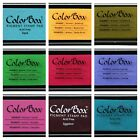ColorBox Classic Pigment Ink Pad Full Size Color Variety
