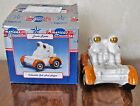 LUNAR ROVER With BOX  Salt and Pepper Shakers  ENESCO  MINT IN BOX