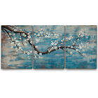 Large Wall Art for Living Room Hand Painted Framed Floral Oil Painting Artwork