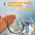 1PC Large Stainless Steel Tuna Fish Hook Big Fishing Accessories 7731 20 0 USA
