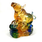 Amore Jewell Chinese Zodiac Collection New Ox Liuli Crystal Glass