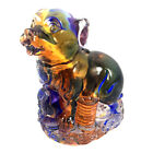 Amore Jewell Chinese Zodiac Collection DogColored Glaze Glass Liuli Crystal