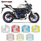 For YAMAHA MT-03 #style 2 Motorcycle wheel paster Rim Decal