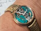 BULOVA ACCUTRON 1969 SPACEVIEW Watch Gold filled 214 Bulova shop find
