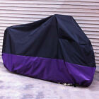 Size XXL Motorcycle Rain Cover for Ducati Suzuki BMW Scooter Dirt UV Rays V7Y6