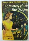 Nancy Drew 38 The Mystery of the Fire Dragon Dollar Box PC 1962 First Printing