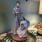 NAO BY LLADRO THE HOLY FAMILY NATIVITY 1402 JESUS MARY JOSEPH EXCELLENT