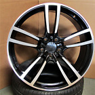 22x10 Wheels Black Machine Fits Porsche Cayenne Audi Q7 5x130 Rims 22 Inch set 4