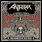 Anthrax : The Greater of Two Evils CD (2004) Incredible Value and Free Shipping!