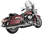SuperTrapp 2 Into 1 Supermeg Exhaust System Chrome 828 71576 HARLEY DAVIDSON