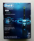 New Oral-B Genius 8000 Electronic Toothbrush Midnight Black Edition FACTORY SEAL