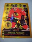 Artemi Panarin Rookie Card Checklist and Gallery - NHL Rookie of the Year 27