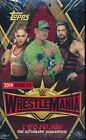 4 BOX LOT 2019 TOPPS ROAD TO WRESTLEMANIA WWE SEALED HOBBY WRESTLING