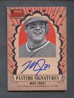 2013 Panini America's Pastime Signatures Mike Trout Angels AUTO 59 75