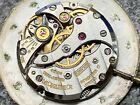 JAEGER LECOULTRE CAL K818/1CW Manual Wind Watch MOVEMENT with DIAL