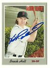 2019 TOPPS HERITAGE #39 BROCK HOLT RED SOX AUTOGRAPHED SIGNED BASEBALL CARD