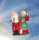 Hallmark Keepsake Ornament Mr. & MRS Claus #5 Popcorn Party 1990