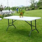 Folding Table Desk Portable Plastic Indoor Outdoor Picnic Party Dining Camping