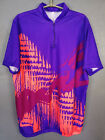 VENTAGE MENS SHIRT MARCEL CLAIR CYCLING BICYCLE BIKE JERSEY CAMISETA SIZE XL