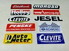 WHOLESALE LOT OF 10 NASCAR NHRA RACING DECALS STICKERS ESTATE SALE LOT 128