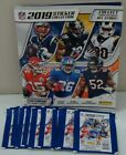 2019 PANINI NFL STICKERS WITH ALBUM 10 PACKS WITH 5 STICKERS PER PACK NEW