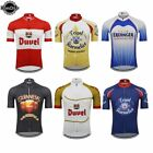 Classic BELGIUM Men Cycling Jersey racing Clothing wear Short Sleeves MTB