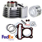 US Stock 47mm Big Bore Cylinder Piston Rings Kit For GY6 50cc 80cc 4 Strokes ATV