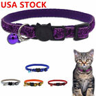 Cute Pet Safety Personalized Breakaway Cat Collar With Bell For Cat Kitten Kitty