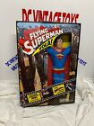 RARE FLYING SUPERMAN NEW TOYS ACTION FIGURE ITALY VINTAGE 70 MEGO HERO SUPER MAN