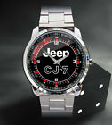 New Hot Jeep CJ7 Logo Mens Sport Metal Watch