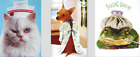 GET WELL CARD Avanti FUNNY Nurse Cat Chihuahua Dog in Gown Frog Toad