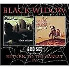 Return To The Sabbat / IV, Black Widow, Audio CD, New, FREE & FAST Delivery