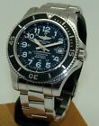 BREITLING 42mm SUPEROCEAN II STAINLESS STEEL AUTOMATIC WATCH A13370 C. 2015