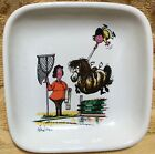 Thelwell Comical Pony Club Square Candy Dish