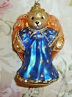 VINTAGE CHRISTOPHER RADKO MUFFY ANGEL VANDERBEAR CHRISTMAS ORNAMENT RETIRED 2000