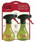 Evo Oil Sprayer Bottle Non Aerosol for Olive Oil and Cooking Oils 8 ounce