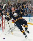 Jack Eichel Signs Exclusive Autograph Card Deal with Leaf 12