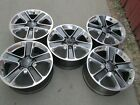 18 JEEP WRANGLER RUBICON SET 5 OEM FACTORY WHEELS RIMS