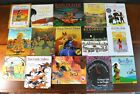 Lot 15 THANKSGIVING THEMED Childrens Picture Books Native Indian Pilgrim P3