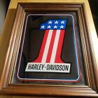 Vintage Harley Davidson Number One #1 Mirror Sign