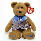 Dad 2006 Bear DAD ROCKS! Store Exclusive Retired Ty Beanie Baby MWMT Collectible