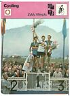 1978 Eddy Merckx Sportscaster Belgium Track Racing Cycling Card 51 05