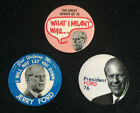 JERRY FORD Lot of 3 Unique  Presidential Campaign Pins
