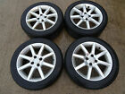 Honda Civic Mini Mitsubishi 4x alloy wheels with tyres 205 50 16 4x100