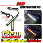 Front Fairing Turn Signal LED Strip Lights 120mm For Suzuki Motorcycle