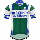2019 New Team 1981 La Redoute Motobecane Retro old style cycling jersey summer